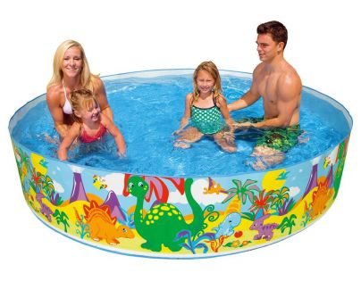 Intex 58472 Bazén pevný 244x46cm - Dinosauři