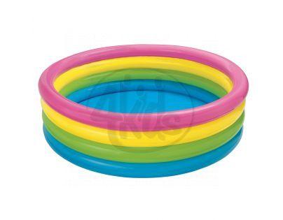 Intex 56441 Bazén čtyřkomorový - Modré dno