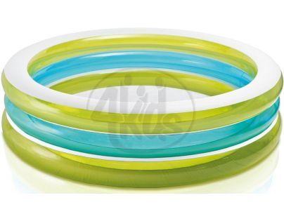 Intex 57489 Bazén kruhový průhledný 203cm - Zelenomodrá