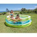 Intex 57489 Bazén kruhový průhledný 203cm - Zelenomodrá 2