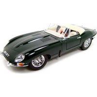 Bburago 1:18 Jaguar E Cabriolet 1961 zelené 18-12046
