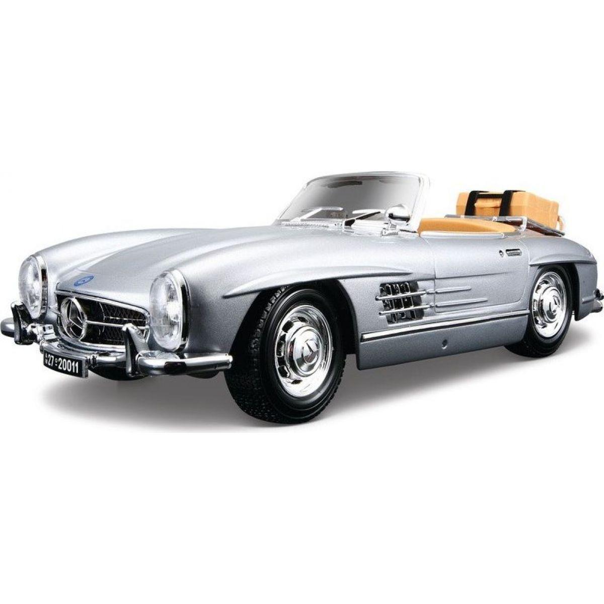 Bburago 1:18 Mercedes Benz 300 SL Touring 1957 Silver