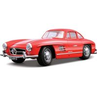 Bburago 1:18 Mercedes-Benz 300 SL 1954 červená