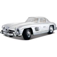 Bburago 1:18 Mercedes-Benz 300 SL 1954 Silver