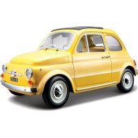 Bburago 1:24 Fiat 500 F 1965 žlutá 18-22098