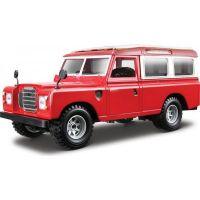 Bburago 1:24 Land Rover červená 18-22063