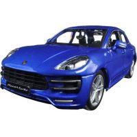Bburago 1:24 Porsche Macan Metallic modrá 18-21077