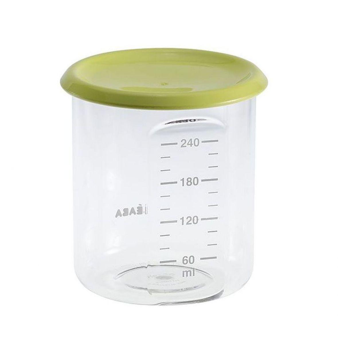 Béaba Kelímek na jídlo 240 ml zelený