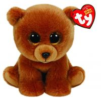 Beanie Babies BROWNIE 15 cm medvídek