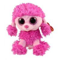 Beanie Boos PATSY 15 cm růžový pudl