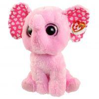 Beanie Boos SUGAR 24 cm růžový slon