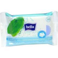 Bella osvěžující vlhčené ubrousky s vůní zeleného čaje á 10ks