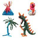 Bendaroos 3D aktivity - Dinosaurus 2