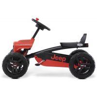 Berg Buzzy Jeep Rubicon červenočerný 2