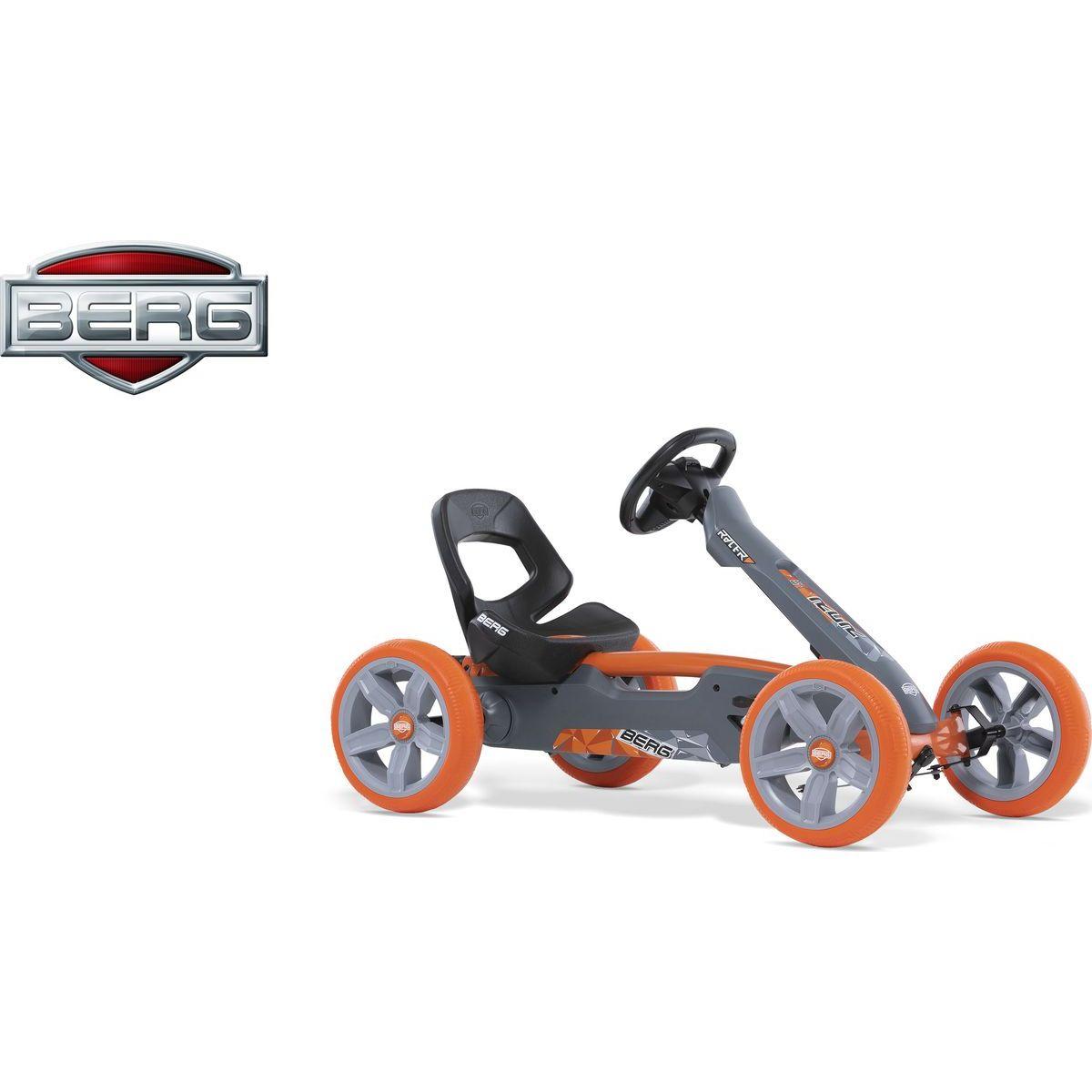 Berg Reppy Racer šedooranžový
