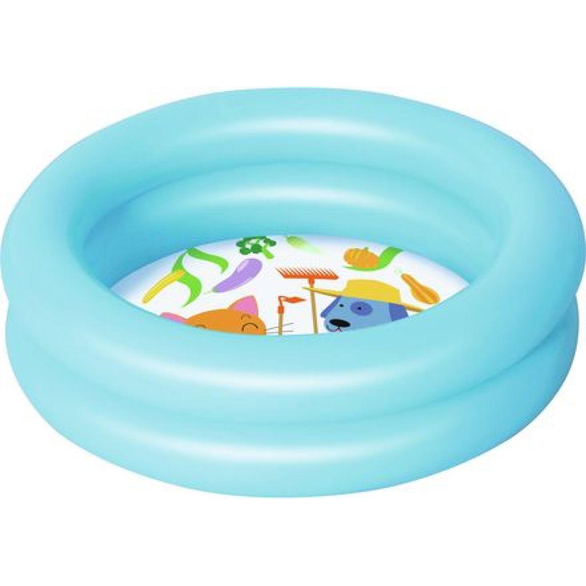 Bestway Bazén nafukovací 2 prstence 61 cm modrý