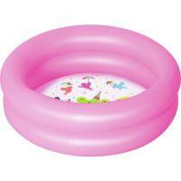 Bestway Bazén nafukovací 2 prstence růžový