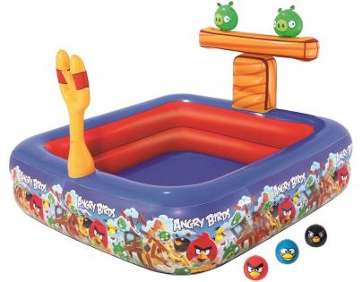 Bestway Angry Birds Nafukovací bazén 147 x 147 x 91 cm