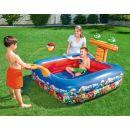 Bestway Angry Birds Nafukovací bazén 147 x 147 x 91 cm 2