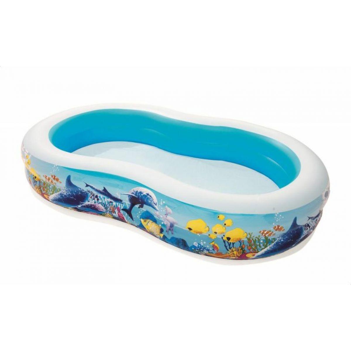 Bestway Bazén laguna s mořskými živočichy