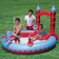 Bestway Nafukovací bazén Hrad 221 x 193 x 150 cm 2