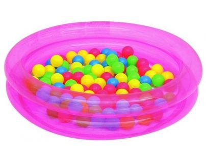 Bestway Nafukovací bazén průměr 91 cm růžový