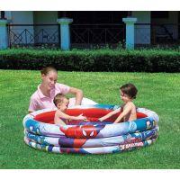 Bestway Nafukovací bazén Spiderman 3 pruhy průměr 152 cm 2