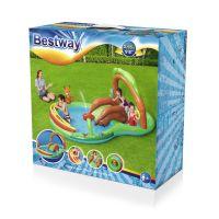 Bestway Nafukovací hrací centrum se skluzavkou 5