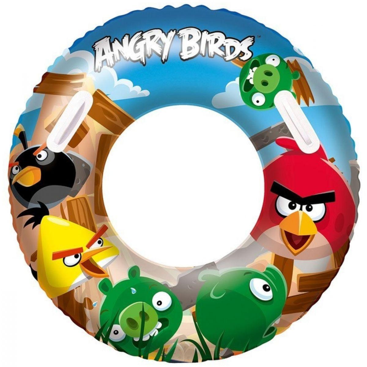 Bestway 96103B - Nafukovací kruh velký - Angry Birds, průměr 91 cm