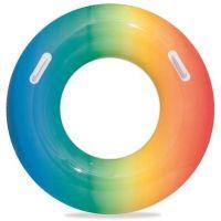 Bestway Nafukovací kruh duhový 91 cm modrooranžový