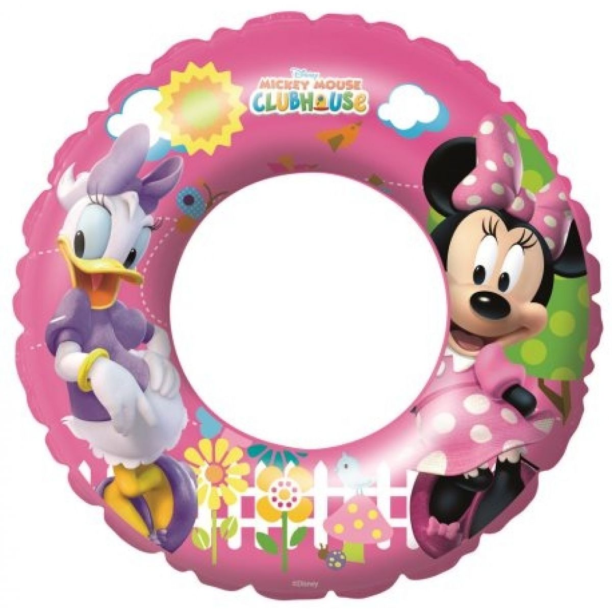 Bestway 91023B - Nafukovací kruh - Minnie/Donald, průměr 56 cm