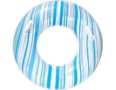 Bestway 36010 Nafukovací kruh Proužek 91cm - Modrá