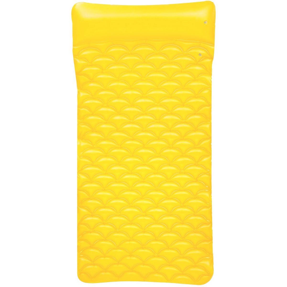 Bestway Nafukovací matrace 213 x 86 cm - Žlutá