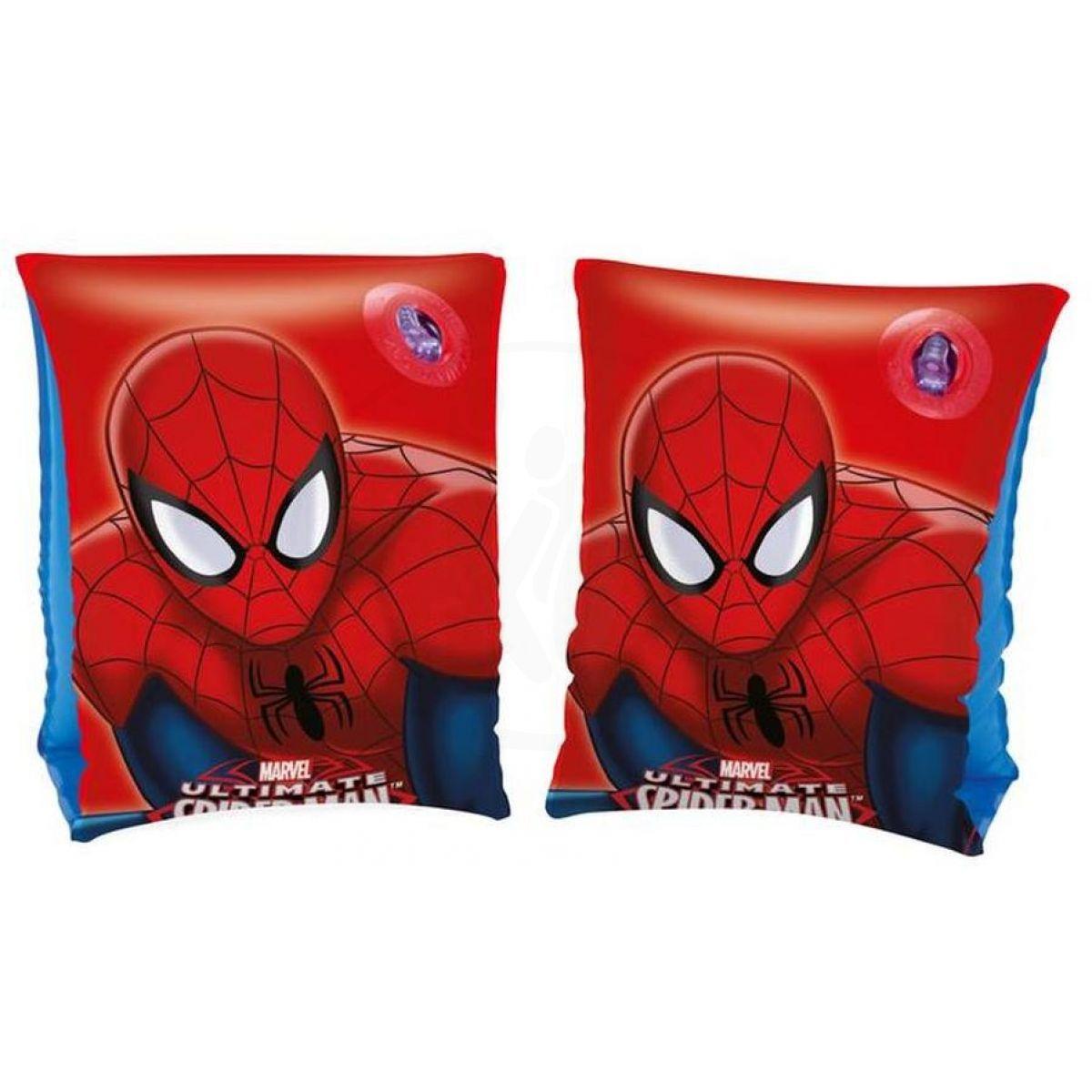 Bestway Nafukovací rukávky Spiderman 23 x 15 cm