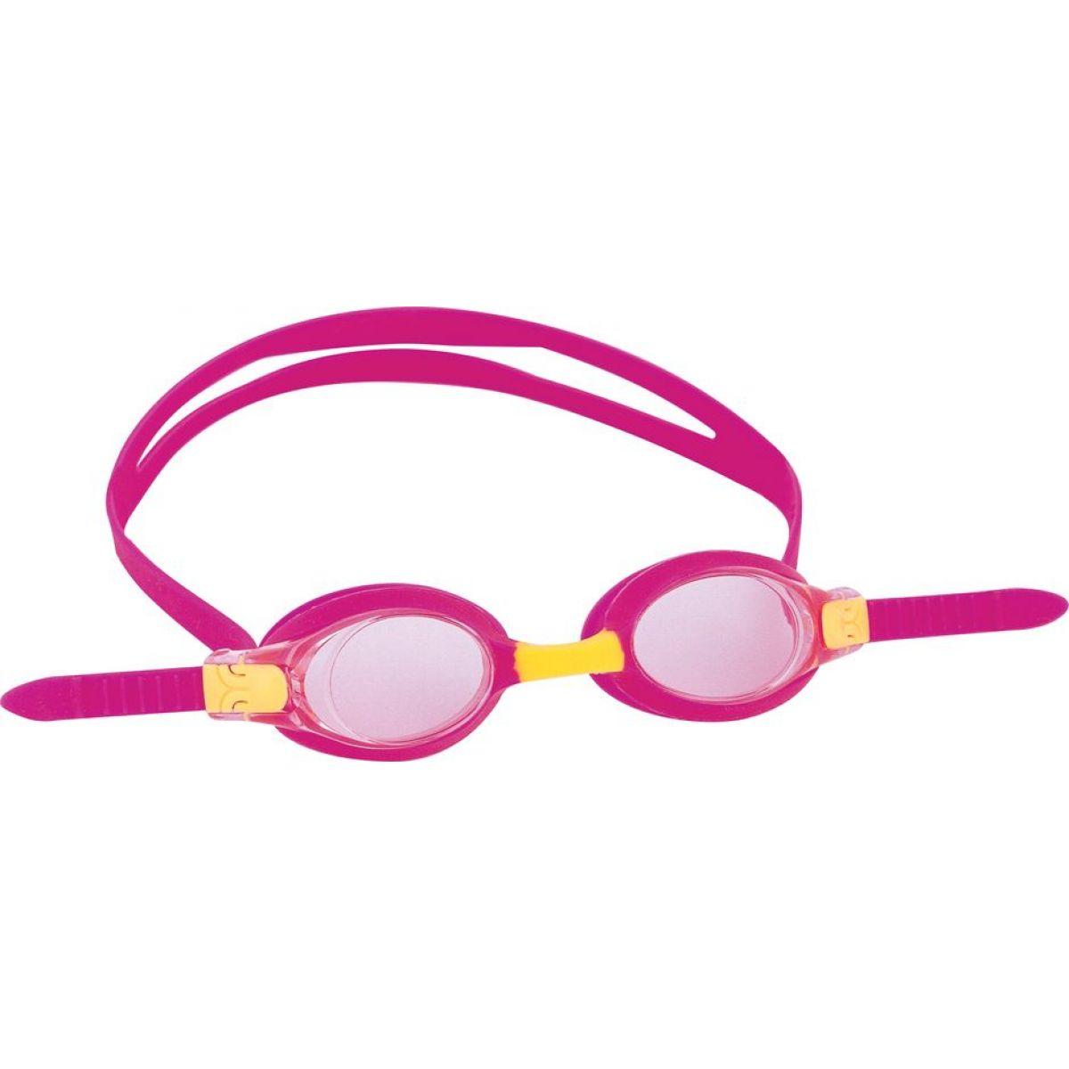 Bestway 21034 Plavecké brýle od 3-6 let - Růžová