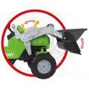 Big Šlapací traktor Jimmy se lžící a vozíkem 3