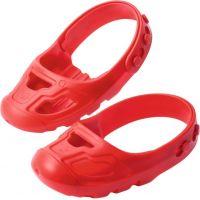 Big Ochranné návleky na botičky červené