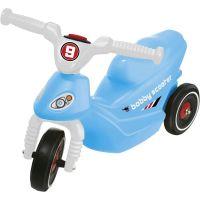 Big Odrážedlo Bobbi Scooter modrý