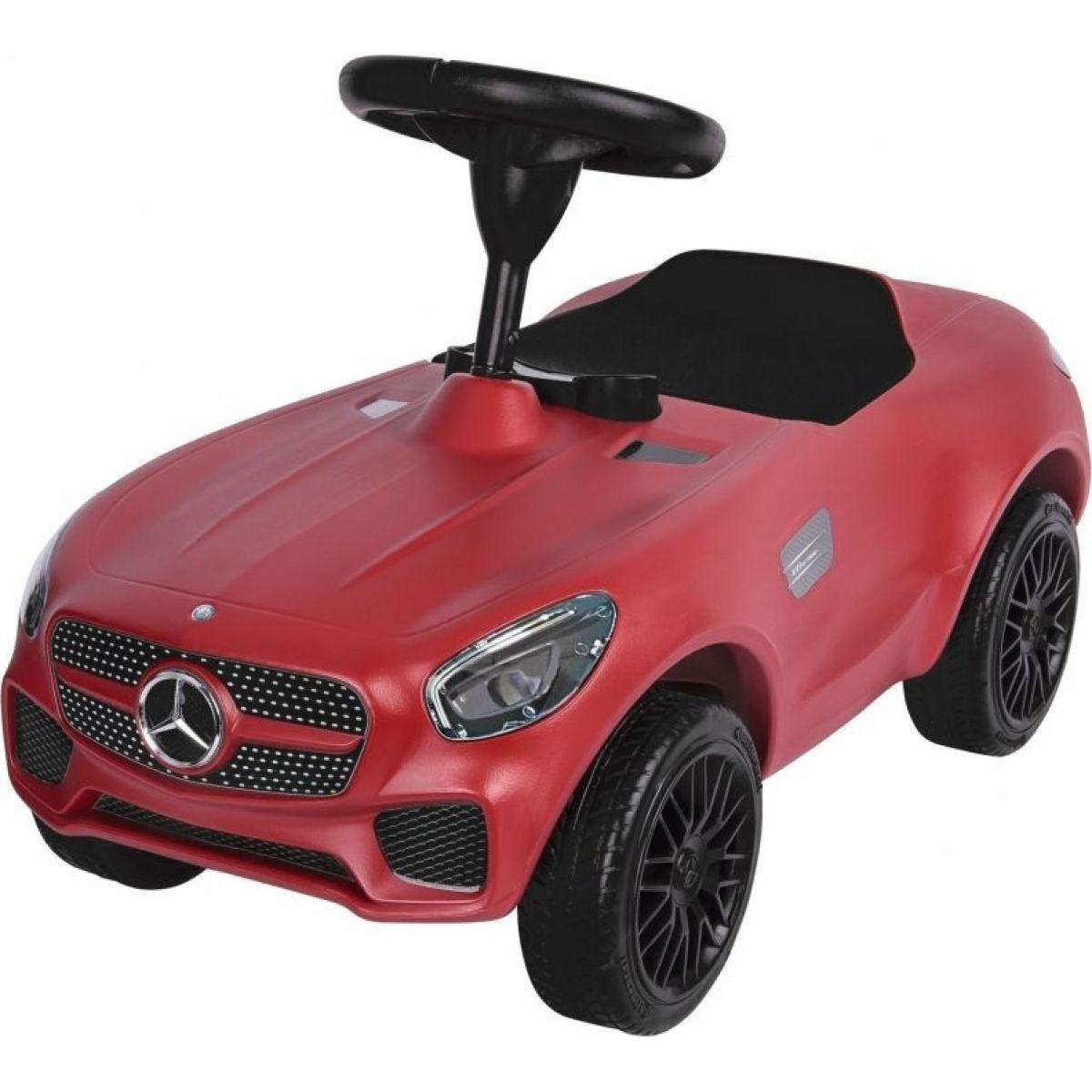BIG auto AMG GT Bobby červené s klaksónom a špeciálnymi kolesami 69*34*39 cm