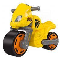 Big Odrážedlo motocykl žlutý
