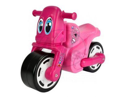 Big Odrážedlo motocykl růžový