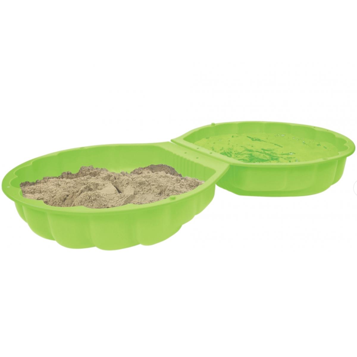 BIG Pískoviště mušle zelená barva