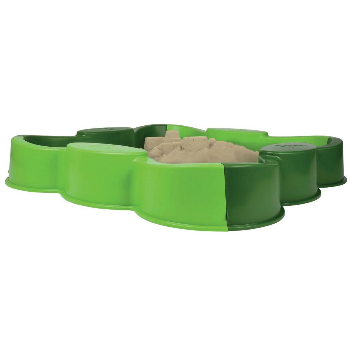 BIG 56721 pieskovisko VARIO štvorlístok zelené bez krytu