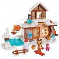 Big PlayBIG Bloxx Máša a medvěd Míšův zimní dům
