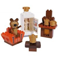 Big PlayBIG Bloxx Máša a medvěd Míšův pokojíček 3