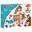 Big PlayBIG Bloxx Máša a medvěd Míšův zimní dům 5
