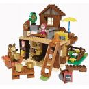 Big PlayBIG Bloxx Máša a medvěd Stavebnice Míšův dům 2