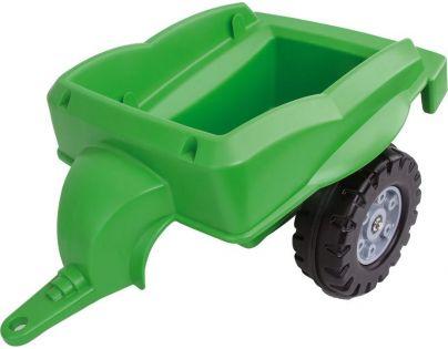 Big Přívěsný vozík Bobbi Car zelený