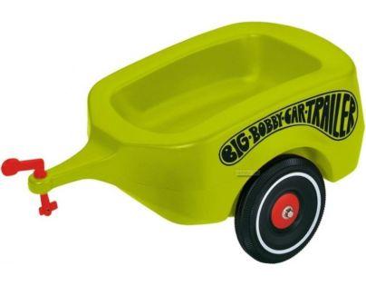 BIG Přívěsný vozík zelený Bobby Car