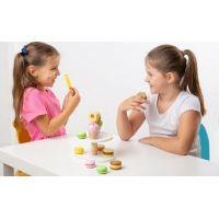 Bigjigs Toys Dřevěný stojan se sladkými dobrotami 2